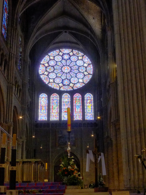 chartres cathedral rose window s flickr photo sharing