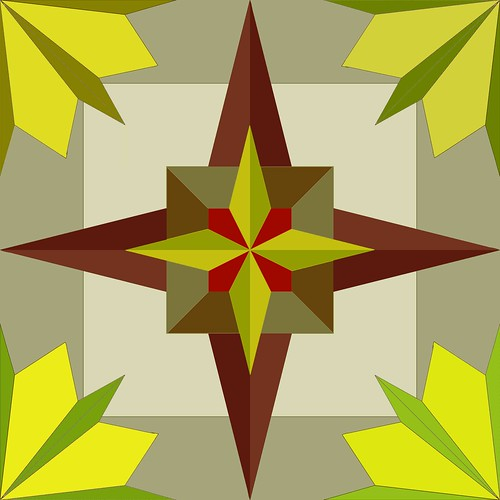 Star-Leaf Quilt Block