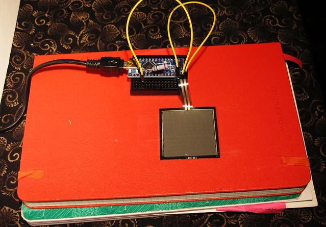 Arduino velocity sensitive drum trigger project flickr