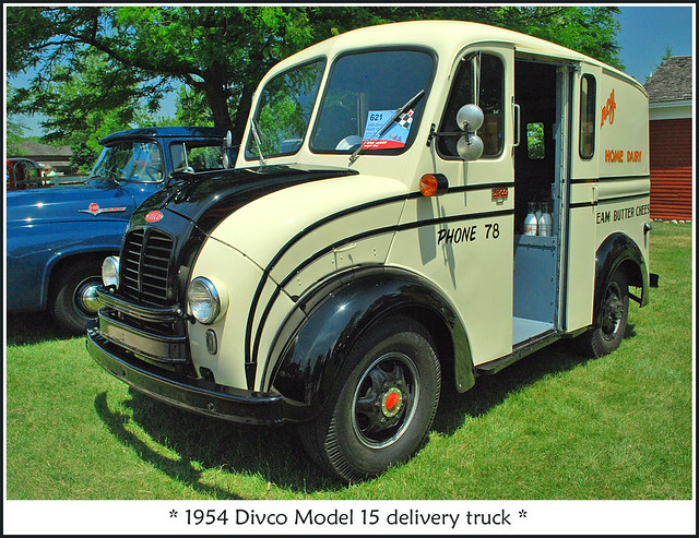 1954 Divco delivery truck