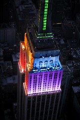 Empire State Building goes rainbow