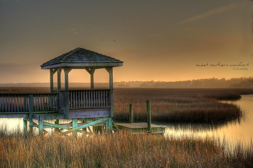 island south salt carolina marsh pawleys