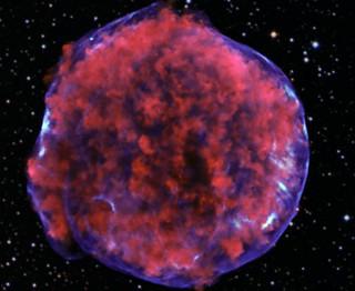 Tycho Supernova Remnant (NASA, Chandra, 03/24/11)