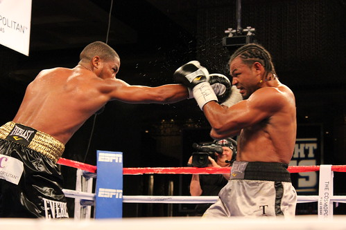 Yudel Jhnoson vs. Richard Gutiérrez at Fight Night at The Cosmopolitan of Las Vegas