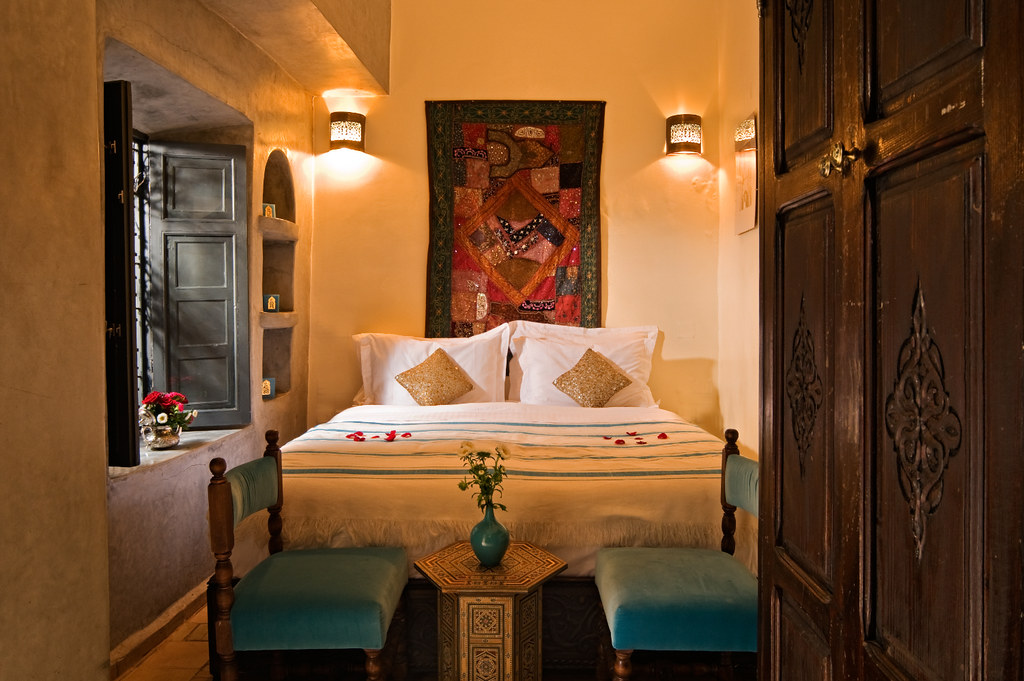 Chambre a coucher marocaine for Photo chambre a coucher marocaine