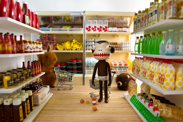 After realizing that his favorite brand of dijon mustard has been discontinued, monkey erupts into violence.