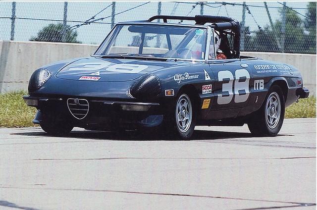 E D Z on Custom Alfa Spider Veloce