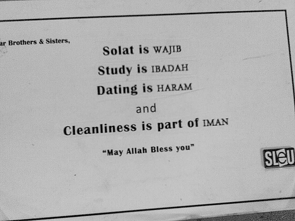 Hvorfor er dating Haram