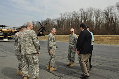 Army chief of staff visits APG