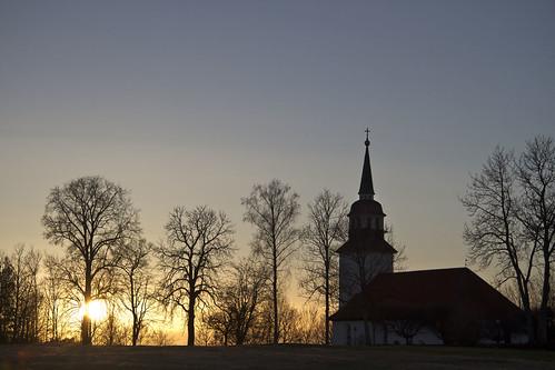 trees sunset church sweden sverige linköping östergötland canonefs1785mmf456isusm landeryd canoneos7d