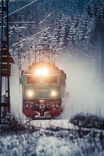Swedish train