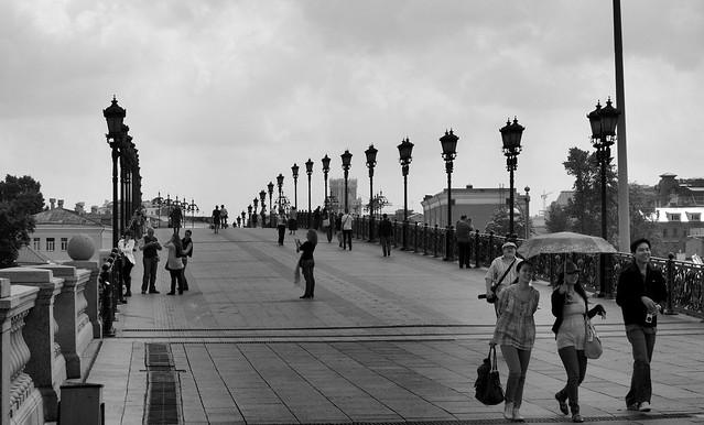 Μόσχα, γέφυρα στο μόσχοβο