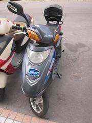 automotive exterior(0.0), motorcycle(0.0), vespa(0.0), scooter(1.0),