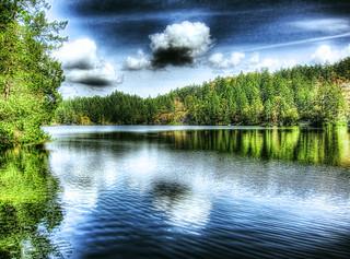 Thetis Lake HDR