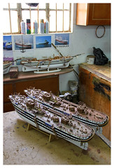 Mauritius - inside the ship model factory in Curepipe 3