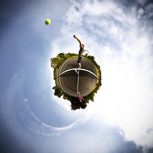 World Tennis Polar Panorama
