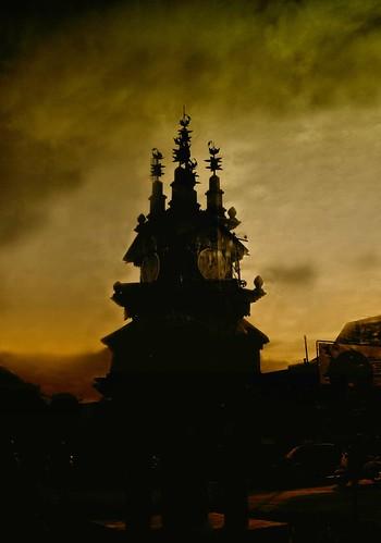 statue sunrise wonderful indonesia fantastic 111v1f