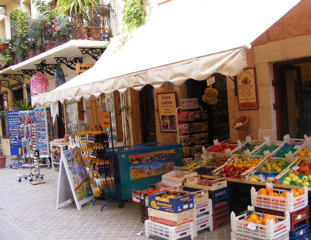 Market in Chania