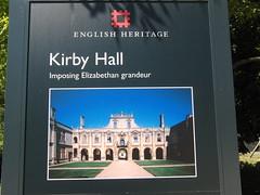 English Heritage - Kirby Hall.