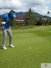 green fairway of Laguna Phuket