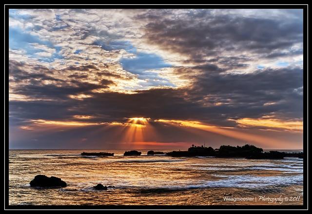 Sunset at Pura Gede Luhur Batungaus