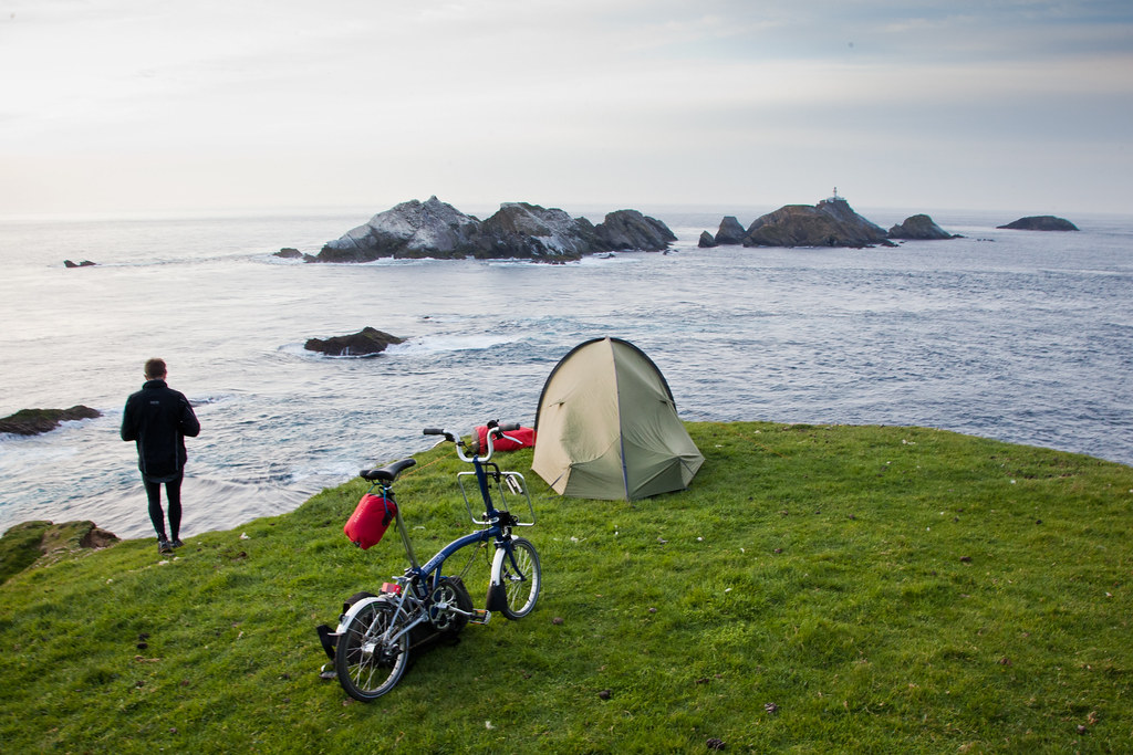 Camping on Unst