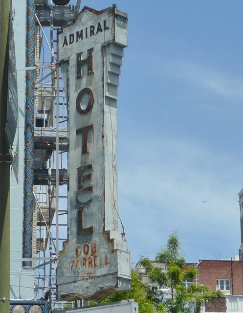 ADMIRAL HOTEL SAN FRANCISCO CALIF.