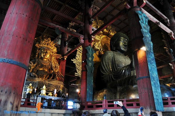 the buddhas of the Daibatsuden Hall