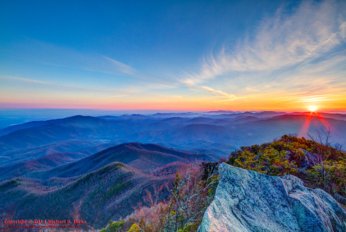 usa sunrise landscape geotagged spring unitedstates hiking tennessee hdr cosby greatsmokymountainsnationalpark gsmnp photomatix crestmont sigma1020mmf456exdc mountcammerer canon7d nashvillehikingmeetup catonsgrove geo:lat=3576358032 geo:lon=8316129980