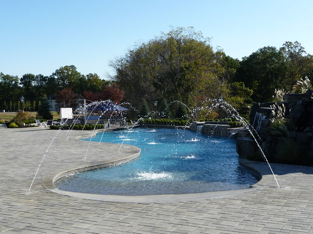Custom luxury swimming pool design flickr photo sharing for Custom swimming pool designs