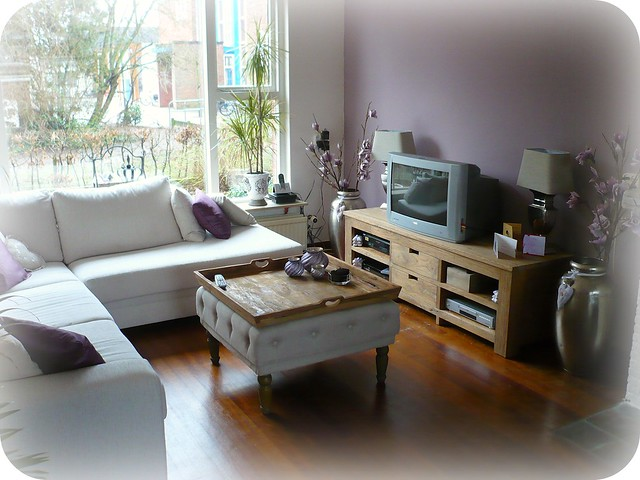 Mauve Living Room Walls