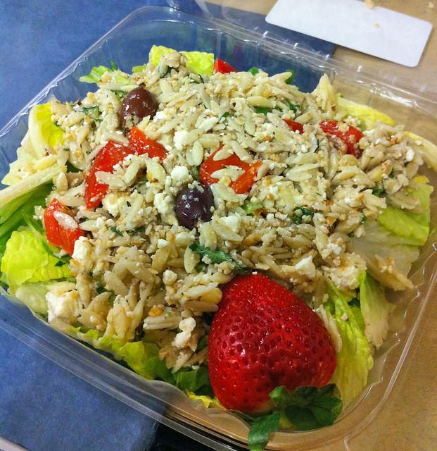 Greek Orzo Salad   Flickr - Photo Sharing!