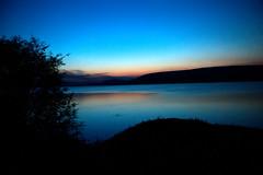 Lake Mburo at dusk