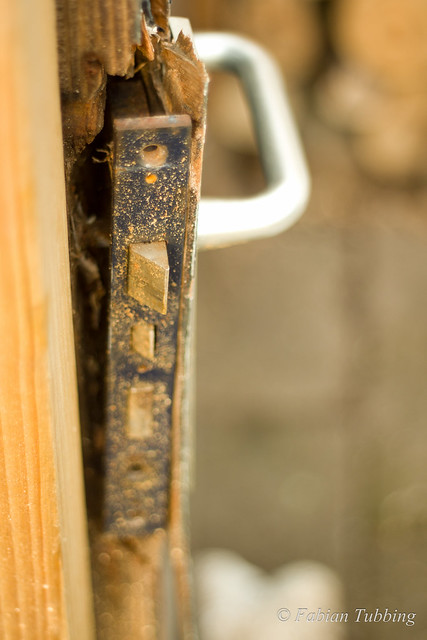 Broken doorlock