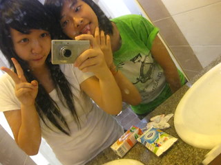 Lovely  Toiletie =) with Jessie {♥} xD Bonus