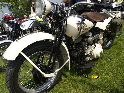 Harley Davidson Motorbikes - 1947