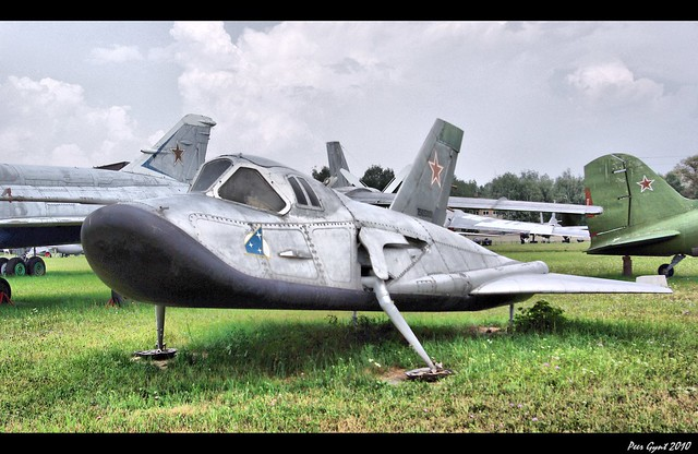 Photo:Dedicated to 50th Anniversary of Gagarin's Flight. Soviet MiG 105-11 Spaceplane. By Peer.Gynt