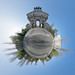 Siegestor München 360° Panorama - Little Planet Munich