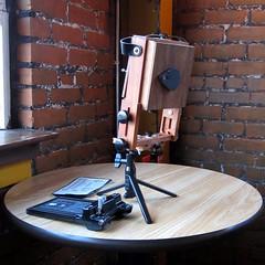 Pinhole from field camera (built/designed by Bill Bresler)