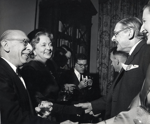 T. S. Eliot and Stravinsky