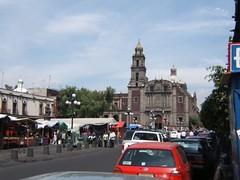 MEXICO CITY, MEXICO - Santo Domingo church/ МЕХИКО, МЕКСИКА - церковь Санто Доминго