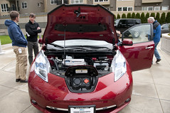 Nissan Leaf at Puget Sound Energy