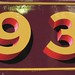 Shaded Numbers by David Kynaston Signwriting & Gold Leaf