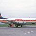 G-AOYJ Vickers V806 Viscount British Air Services - Cambrian Airways LPL 06APR71 by Ken Fielding