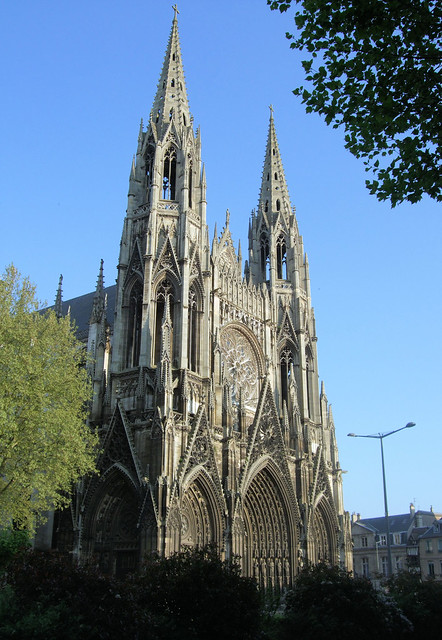 The Church of St. Ouen, Rouen, Normandy - France.