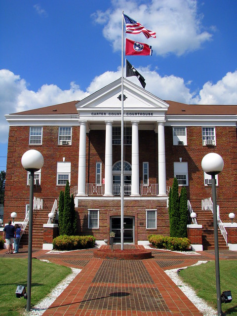 Carter Co. Courthouse - Elizabethton, TN