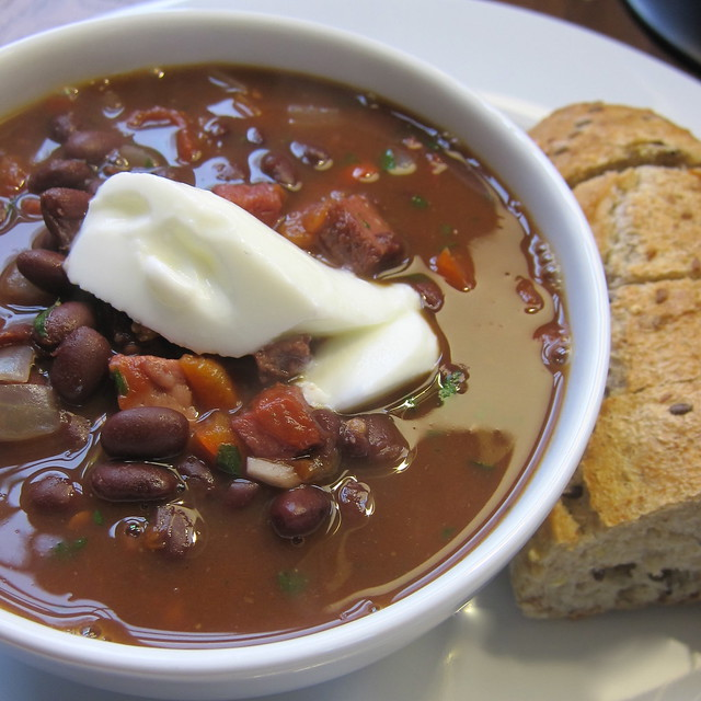Cuban Black Bean & Ham Soup | Flickr - Photo Sharing!