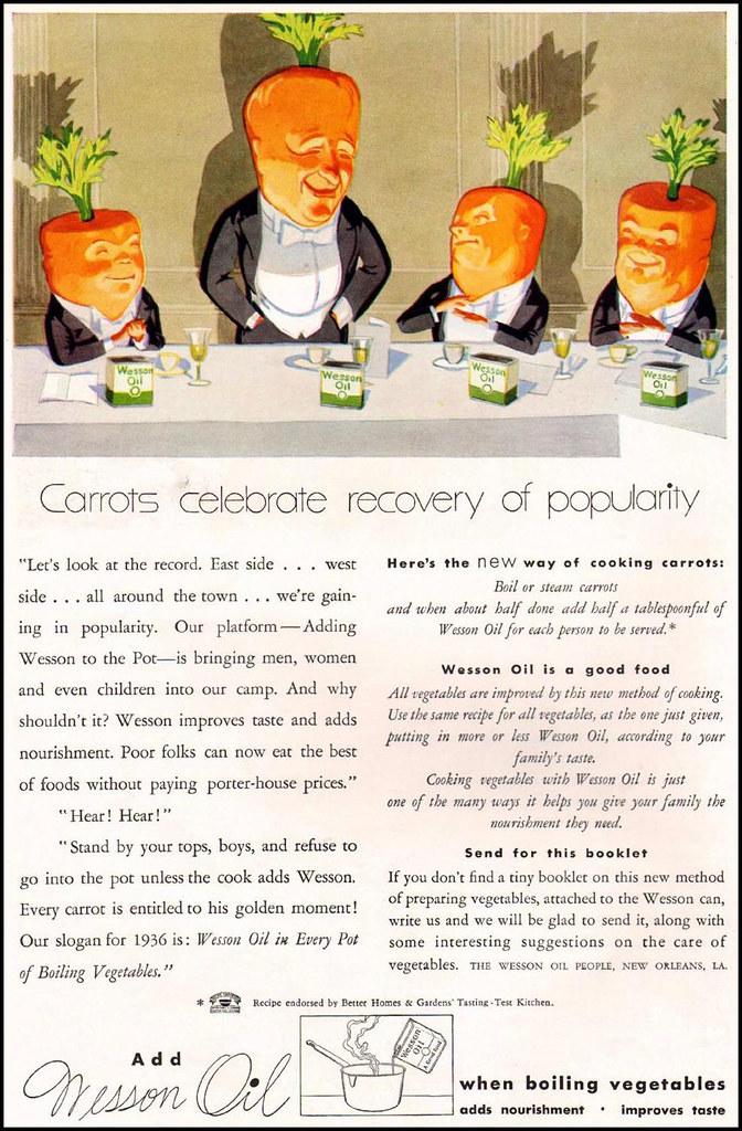 1936 ... carrots celebrate!