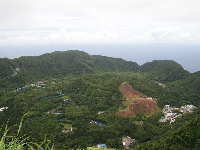 青ヶ島 Aogashima