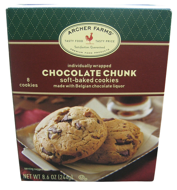 Archer Farms Chocolate Chunk Soft-Baked Cookies | Click here ...